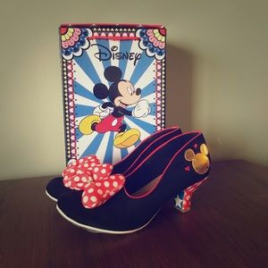 Irregular Choice Minnie Mouse Heels
